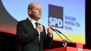 spd wählt scholz: in potsdam kommt es zum kanzlerkandidaten-duell