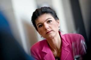 Sahra Wagenknecht kann sich Regierung mit linker Beteiligung vorstellen