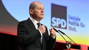 brandenburger spd wählt scholz zum spitzenkandidaten