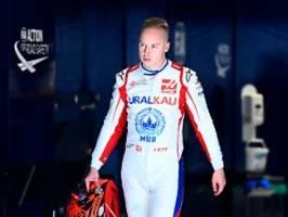 Formel-1-Konkurrenz ist genervt: Immer wieder stört Rookie Mazepin