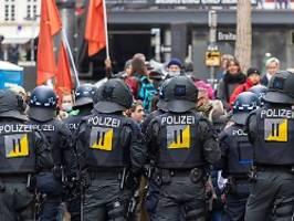 Polizei-Chef nach 1.-Mai-Gewalt: Wendt will Verbot für Querdenken-Demos