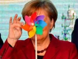 Klimaschutz: Grüner Arm für CDU und CSU