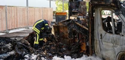 Willi Herrens Food-Truck ist abgebrannt