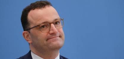 Gesundheitsminister Spahn informiert über Neuigkeiten aus dem Corona-Kabinett