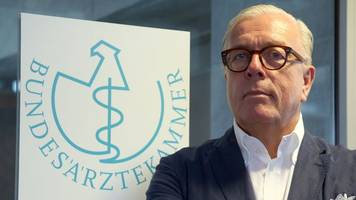 Gesundheitswesen: Ärztepräsident sieht Verbesserungsbedarf nach Corona-Krise