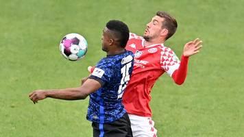 Nachholspiel: Hertha BSC holt nach Quarantäne-Pause Remis in Mainz