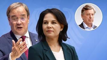 Corona-Ende in Sicht: Wer profitiert,  Armin Laschet oder Annalena Baerbock?