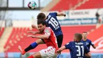 Bundesliga: Hertha holt sich Punkt gegen Mainz