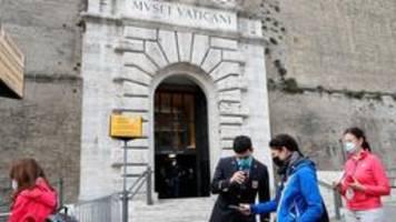 vatikanische museen öffnen: kein ort des geldes, sondern der schönheit