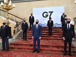 Blinken: Regeln verteidigen: G7 melden sich mit Kampfansage an China zurück