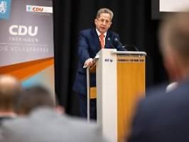 cdu-kandidatur in thüringen: fraktionschef voigt hält an maaßen fest