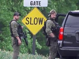 Täter im Krankenhaus: Angreifer vor CIA-Hauptquartier gestoppt