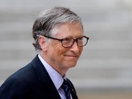 Anfeindungen und Todesnachricht: Superreicher Bill Gates hat es zuletzt schwer