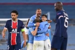 Champions League: 2:0 gegen PSG: ManCity erstmals im Champions-League-Finale