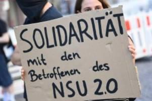 Extremismus: NSU 2.0-Drohschreiben: Verdächtiger festgenommen