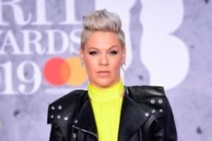 Sängerin: Pink schrieb Testament während Corona-Erkrankung