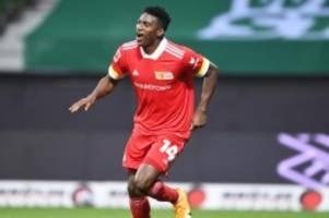Fußball: Awoniyi und Dajaku zurück im Union-Training: Kruse dosiert