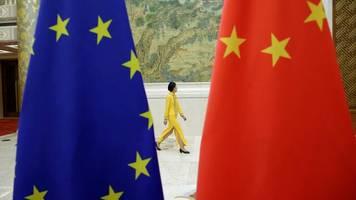 Investitionsabkommen: Abkommen mit China: EU sieht Probleme für Ratifizierung