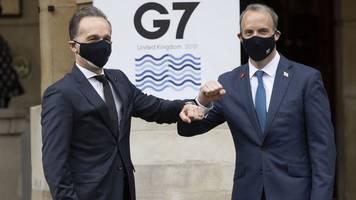 Treffen in London: G7 wollen wachsenden Einfluss Chinas in der Welt eindämmen