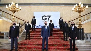 treffen in london: g7-außenminister ringen um gemeinsame china-strategie