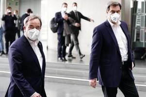 Wahlkampf von Laschet und Merz: Ein Pakt zur Domestizierung von Söder