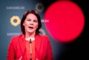 Wahlen: Baerbock als Spitzenkandidatin der Grünen bestätigt