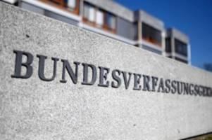 bundes-notbremse: verfassungsgericht lehnt eilanträge gegen ausgangssperren ab