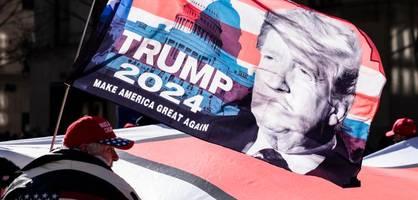Auch ohne Facebook und Twitter hat Trump die Republikaner fest im Griff