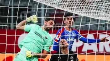 Sieg über Sandhausen: Holstein Kiel rückt auf Platz drei vor