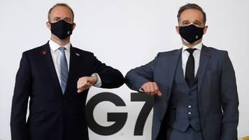 Außenministertreffen: Corona beeinträchtigt G7-Treffen in London