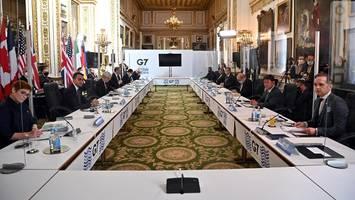 pandemie: corona-wirbel bei g7-ministergipfel