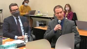 Rassismus - Fall George Floyd: Chauvins Anwalt fordert neues Verfahren