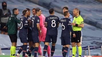 Champions League - Nach Aus: Heftige PSG-Vorwürfe gegen Schiri Kuipers