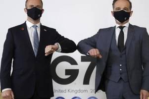 Corona beeinträchtigt G7-Treffen in London