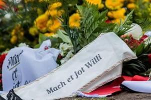 Trauerfeier für Willi Herren in Köln