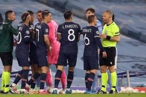 Nach Aus: Heftige PSG-Vorwürfe gegen Schiri Kuipers