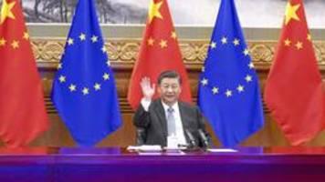 EU und China: Investitionsabkommen ohne Rückhalt