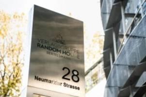 Medien: Bertelsmann-Umsatz über Niveau vor Pandemie