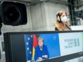Umweltpolitik: Klimakanzlerin auf Abschiedstour