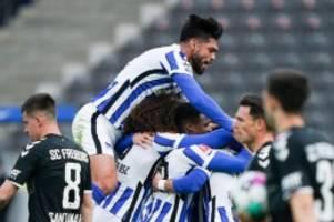 Nachholspiel 30. Spieltag: Dardai rotiert Hertha von den Abstiegsrängen