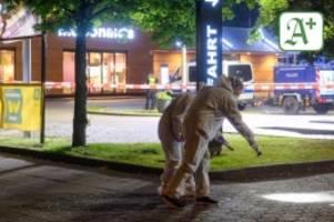 prozess in hamburg: messerattacke bei mcdonald's: vier jahre haft für mikail m.