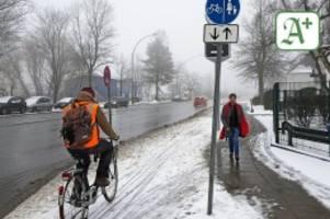 verkehr: mehr radwege schneller von schnee befreien
