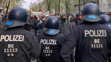 Berlin: Linke Gruppen planen Demonstration gegen Polizeigewalt