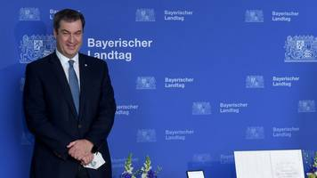 Söder erhält Bayerische Verfassungsmedaille