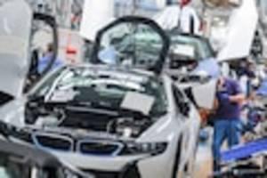 """Plus von zehn Prozent - """"Wir sind gut unterwegs"""": BMW verkauft im April deutlich mehr Autos als vor Corona"""
