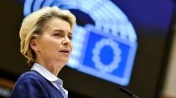 EU will über Patente für Corona-Impfstoffe reden