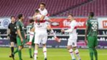 Bundesliga, 32. Spieltag: Stuttgart feiert Heimsieg gegen Augsburg