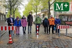 Verkehrsberuhigung: Bezirksbürgermeister schließt Straße am Richardplatz
