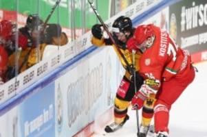 wm-vorbereitung: eishockey-team verliert testspiel gegen belarus