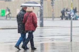 Wetter: Schnee im Mai überrascht selbst den Deutschen Wetterdienst